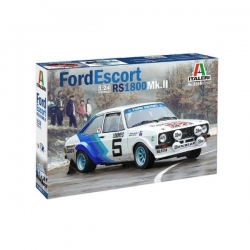 Kit 1/24 Ford Escort RS1800 MKII Italeri