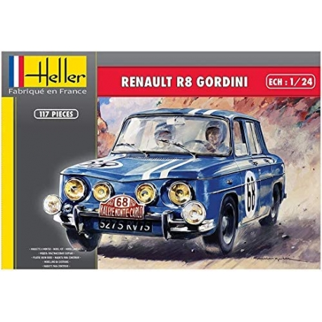Kit 1/24 Alpine A110 1600 S Heller