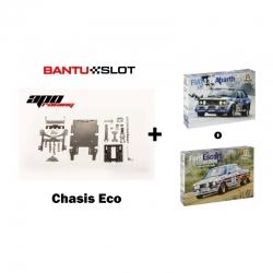 Pack chasis Eco APO Racing + carrocería clásico Italeri