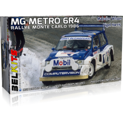 Kit 1/24 MG Metro 6R4 Rally Montecarlo 1986 Belkits