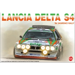 Kit 1/24 Lancia Delta S4 Totip Rally San Remo 1986 Nunu Model kit