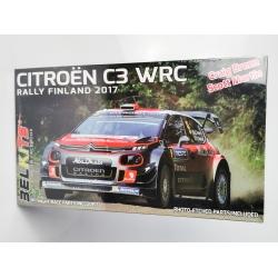 Kit 1/24 Citroën C3 WRC Rally Finlandia 2017 Belkits