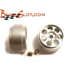Llantas R2 16,7 x 8,5 mm Mitoos (2)