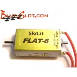 Motor Flat6 20K caja cerrada Slot.it