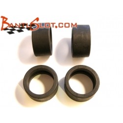 Neumáticos traseros 1/24 blandos Scaleauto (4)