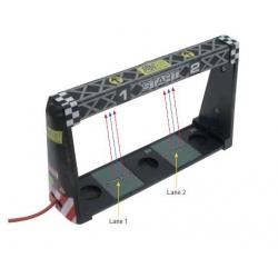 Sensor infrarrojos para 2 carriles Universal DS