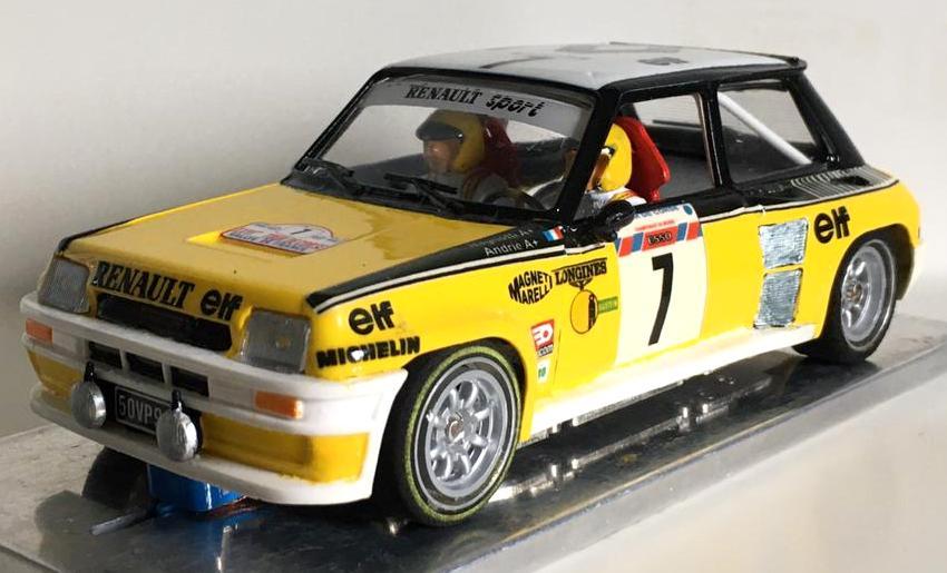Renault 5 Turbo Tour de Corse 1982
