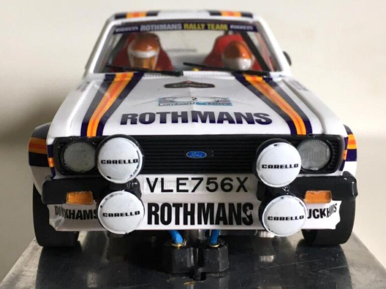 Ford Escort RS 1800 MKII Ari Vatanen Rally RAC 1981