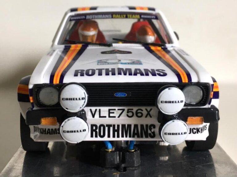 Ford Escort RS 1800 MKII Ari Vatanen Rally RAC 1981