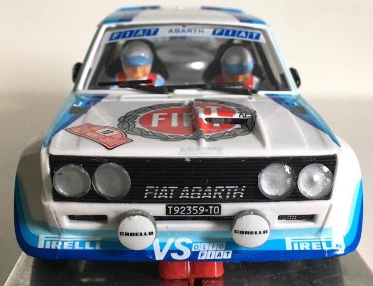 Fiat 131 Abarth Montecarlo 1980 Walter Röhl