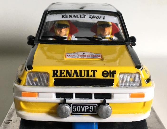 Renault 5 Turbo con chasis ECO APO Racing
